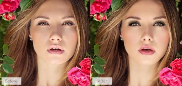 Fashion Portrait with Makeup in PortraitPro 15