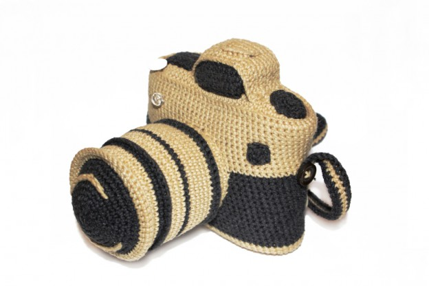Crocheted Camera