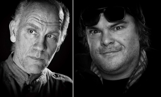 John Malkovich and Jack Black photo by ManfredBaumann.com