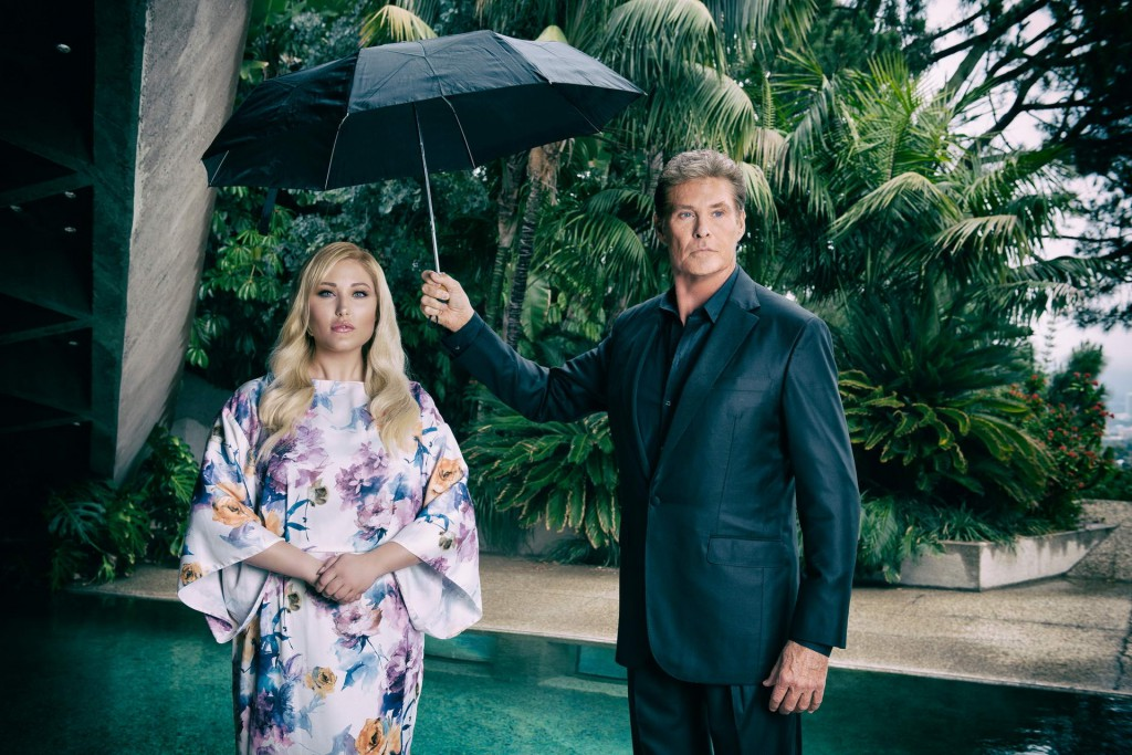 David and Hayley Hasselhoff 2015 photo by ManfredBaumann.com