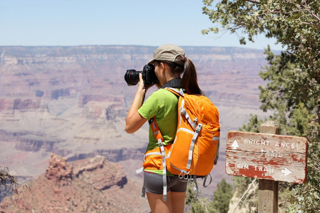 Photographer at Grand Canyon