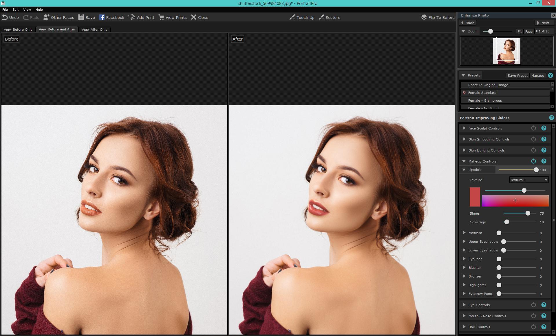 Applying Digital Make Up Tutorial Portraitpro Blog