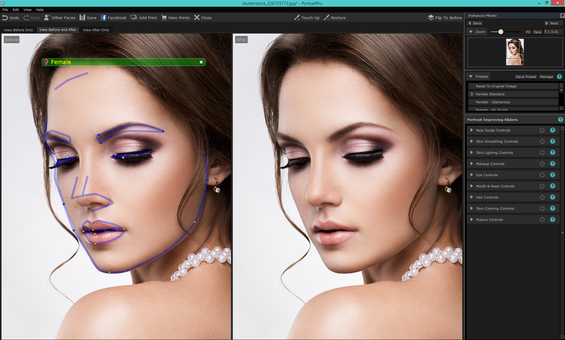 Changing Hair Color Tutorial Portraitpro Blog